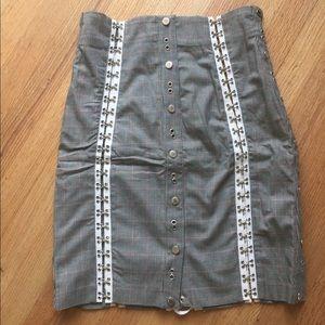 D&G DOLCE & GABBANA pencil skirt - size 28/42